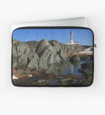 Sunny March Day at Cape Forchu Laptop Sleeve