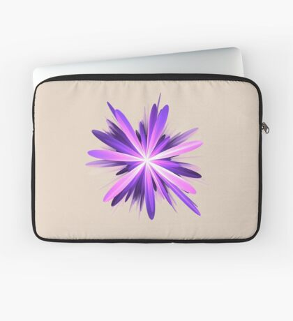 Flower blast #fractal art Laptop Sleeve