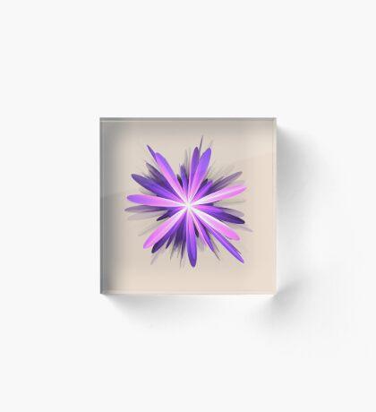 Flower blast #fractal art Acrylic Block