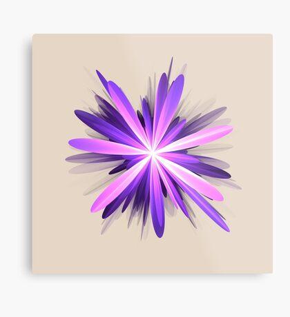Flower blast #fractal art Metal Print
