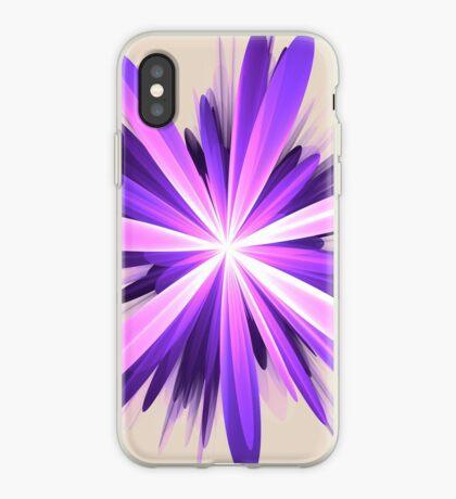 Flower blast #fractal art iPhone Case