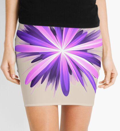 Flower blast #fractal art Mini Skirt
