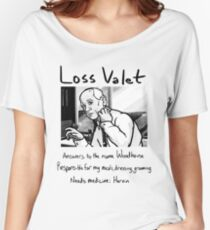 Loss Valet Women's Relaxed Fit T-Shirt