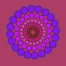 Purple Spectrum Mandala by DejaLulu