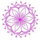 Pink Lotus Mandala by DejaLulu