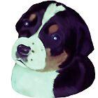 Puppy Dog Art  by Karen Harding