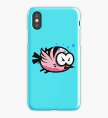 Tired Cute Bird iPhone Case/Skin