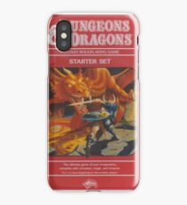 Dungeon Dragon Red Box iPhone Case