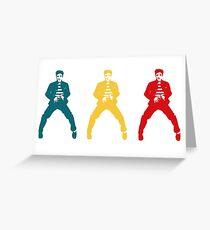 Elvis Color Greeting Card