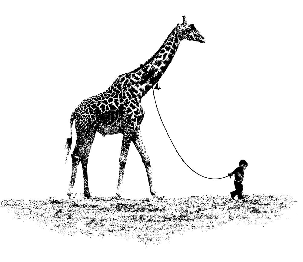 Pet Giraffe by Decibel Clothing by Decibel Clothing