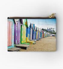 Location, Location, Location - Brighton Beach Boxes - Australia Studio Pouch