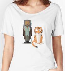Walking Dead - Ezekiel & Shiva Women's Relaxed Fit T-Shirt