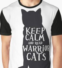 keep calm warrior cats Graphic T-Shirt