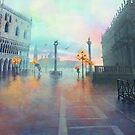 Rainy Evening in Venice by sshimerdla