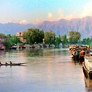 jhelum river, srinagar (1988) by tomdonald