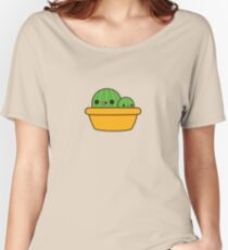 Cute cactus in yellow pot Women's Relaxed Fit T-Shirt