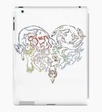 Tribal Eeveeloutions heart iPad Case/Skin