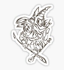 Tribal Dark Magician Dark Magician Girl Sticker