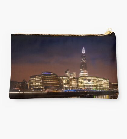 The Shard at night, London. Studio Pouch