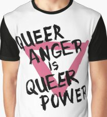 Queer Anger is Queer Power Graphic T-Shirt
