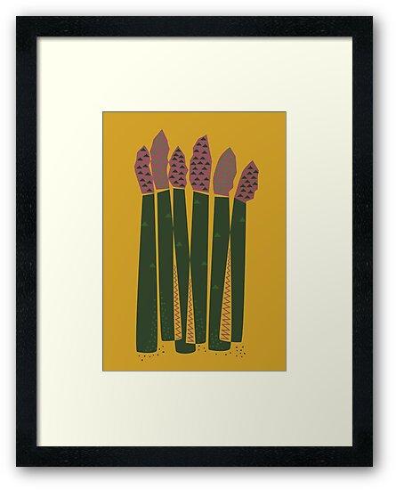 Asparagus by FLATOWL