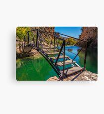 Bolbaite river recreation area Canvas Print