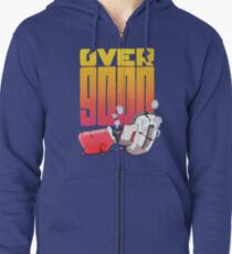 Over 9000 Zipped Hoodie