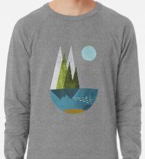 Earth, geometric print Lightweight Sweatshirt