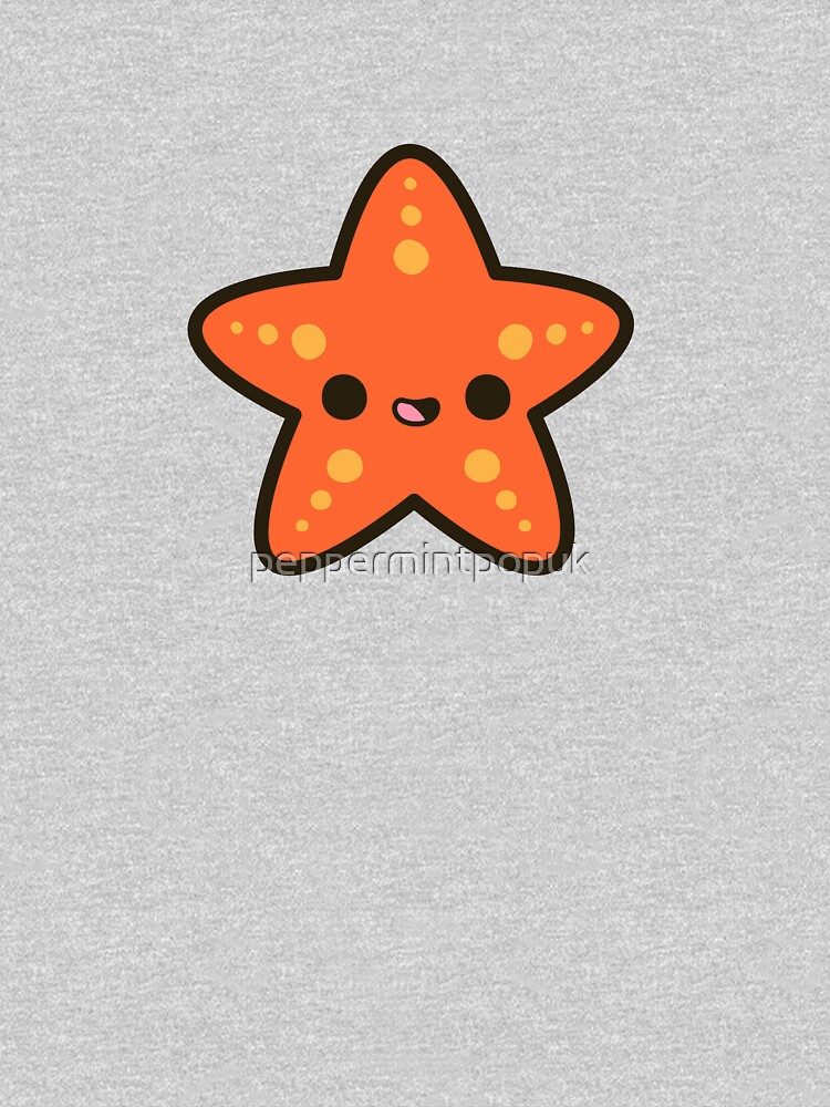 Cute starfish by peppermintpopuk
