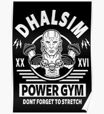 Street Fighter, Dhalsim Power Gym Poster