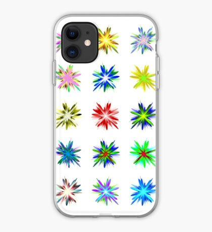 Flower blast structured chaos #fractal art iPhone Case