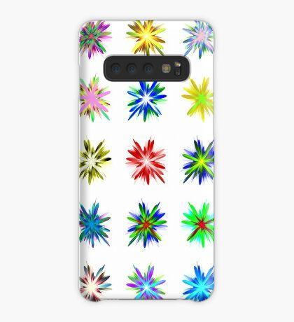 Flower blast structured chaos #fractal art Case/Skin for Samsung Galaxy