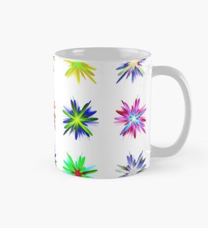 Flower blast structured chaos #fractal art Mug