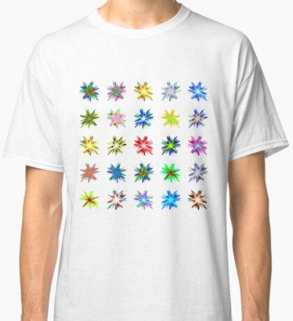 Flower blast structured chaos #fractal art Classic T-Shirt