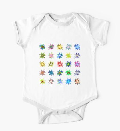 Flower blast structured chaos #fractal art Kids Clothes