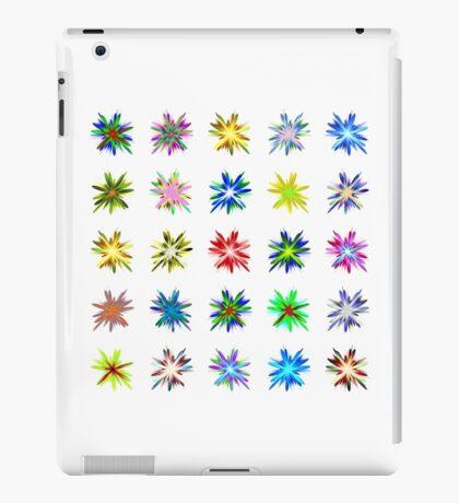 Flower blast structured chaos #fractal art iPad Case/Skin