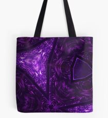 Purple Kaleidoscope I by Maddy Tote Bag