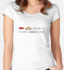 Utopia - where is Jessica Hyde? Women's Fitted Scoop T-Shirt