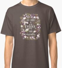 Coffee & Concealer – Spring Palette Classic T-Shirt