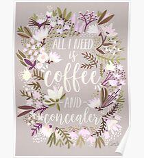 Coffee & Concealer – Spring Palette Poster