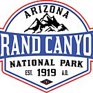 GRAND CANYON NATIONAL PARK ARIZONA MOUNTAINS HIKING CAMPING HIKE CAMP 1919 ADVENTURE 5 by MyHandmadeSigns