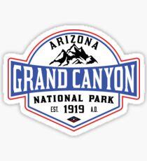 GRAND CANYON NATIONAL PARK ARIZONA MOUNTAINS HIKING CAMPING HIKE CAMP 1919 ADVENTURE 5 Sticker