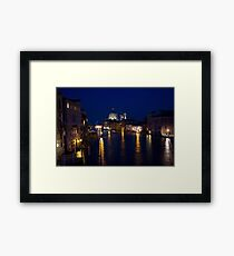 venetian night Framed Print