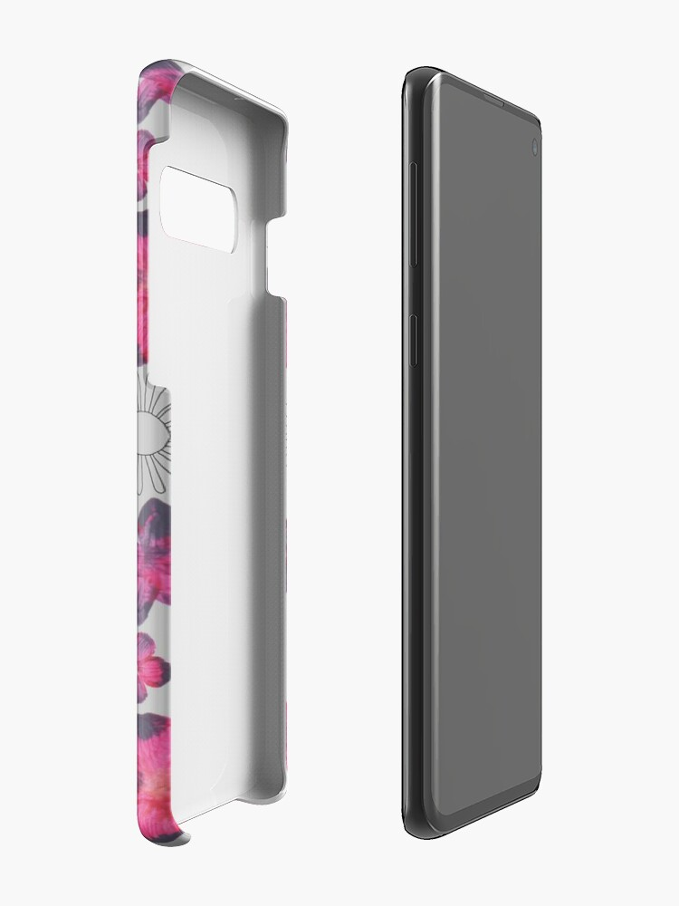 Alternate view of Watercolour Floral Pattern Cases & Skins for Samsung Galaxy