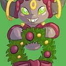 Hoopa Wreath by coffeecogs