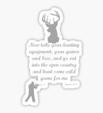Christian Hunter Sticker
