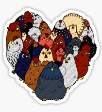 Chicken Love Sticker