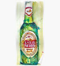 Stella Artois, Premium Beer Poster