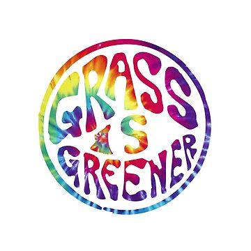 Grass is Greener Tye Dye by kay-la-vie