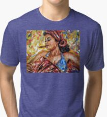 Smoky Rhythm Tri-blend T-Shirt